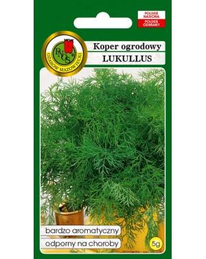 Koper wczesny, o wysokiej zawartości olejków aromatycznych. Odmiana odporna na choroby.