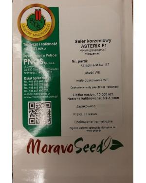 Wczesna odmiana selera korzeniowego, odporna na jarowizację praz septoriozę.